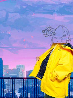 کت بارانی در کمد لباس ایده آل!